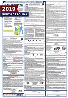 2019 North Carolina State and Federal Labor Law Poster - Laminated 27