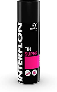 Interflon Fin Super (Aerosol) 300 ML Can - Clean Lube That Penetrates, Cleans, Lubricates and Protects