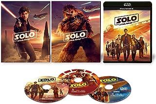 【早期購入特典あり】ハン・ソロ/スター・ウォーズ・ストーリー MovieNEX(初回限定仕様) [ブルーレイ+DVD+デジタルコピー+MovieNEXワールド] [Blu-ray](ピンバッジセット付き)(SWブラック・パッケージ/アウターケース)