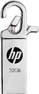 HP USBメモリ 32GB USB 2.0  クリップフック 金属製 耐衝撃 防滴 防塵 のフラッシュドライブ v252w HPFD252W-32