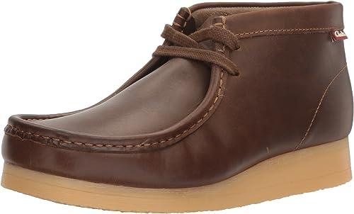 Clarks Men's Stinson Hi Chukka botas,Beeswax Leather,13 M US