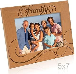 Kate Posh - Family Picture Frame (5x7-Horizontal)