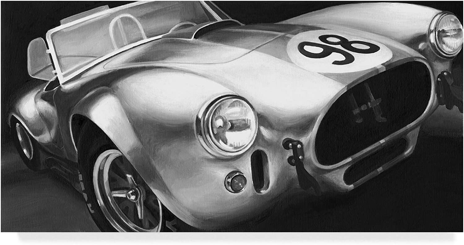 Trademark Fine Art WAG00767C1019GG Vintage Racing I Art by Ethan Harper, 10x19, 10x19, Multicolor