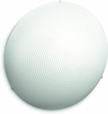 Philips 301923116 Fallow Éclairage de Plafond Blanc 2 x 18 W