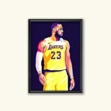 Lebron James Limited Edition Lakers Poster Wall Art Wall Merchandise (Additional Sizes) (16x20)