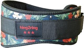 king2ring トレーニングべルト リフティングベルト パワーベルト 9色 4サイズ pk770
