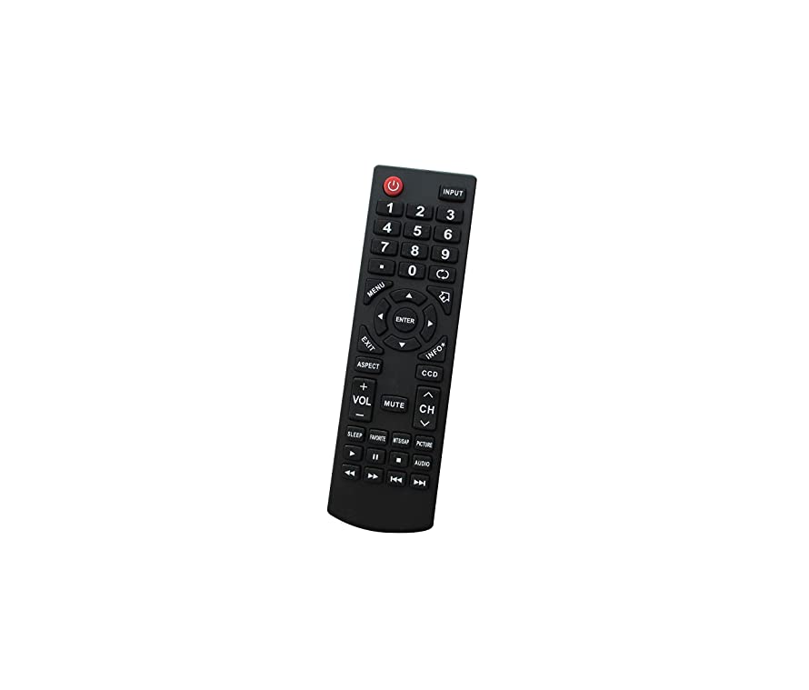 Hotsmtbang Replacement Remote Control for Insignia NS-24E400NA14 NS-39D400NA14-A NS-39D40SNA14 NS-39E400NA14 NS-39L400NA14 NS-40D40SNA14 NS-40D510NA15 NS-42D40SNA14 LCD LED HDTV TV