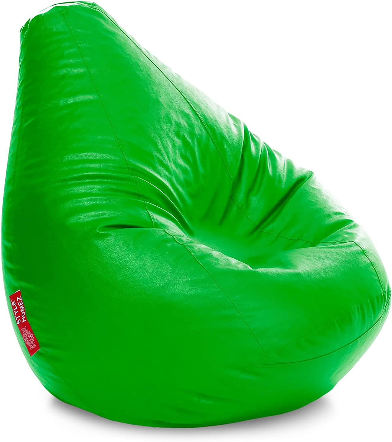 Style Homez Classic Bean Bag XXXL Size Parred Green Cover Only