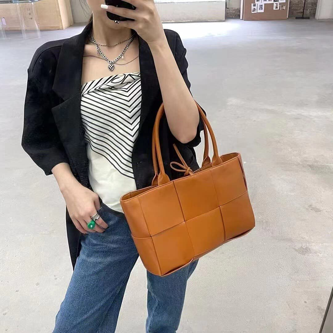 Shoulder Bags Luxury ladies shoulder All items in the store bag leather han woven Sales of SALE items from new works large