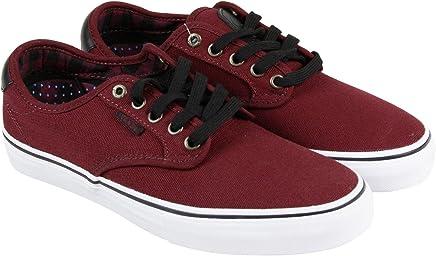 503ce8421c51be Vans Chima Ferguson Pro US Mens 6.5 Womens Size 8 Plaid Port Red Fashion  Sneakers