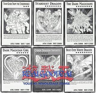 YuGiOh Duel Overload Jumbo Oversized Card Set All Six Cards