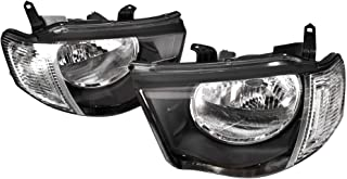 Ozeparts® Pair of LH Left Hand (Passenger) + RH Right Hand (Driver) Headlights Head Light Front Lamp Compatible With Mitsu...