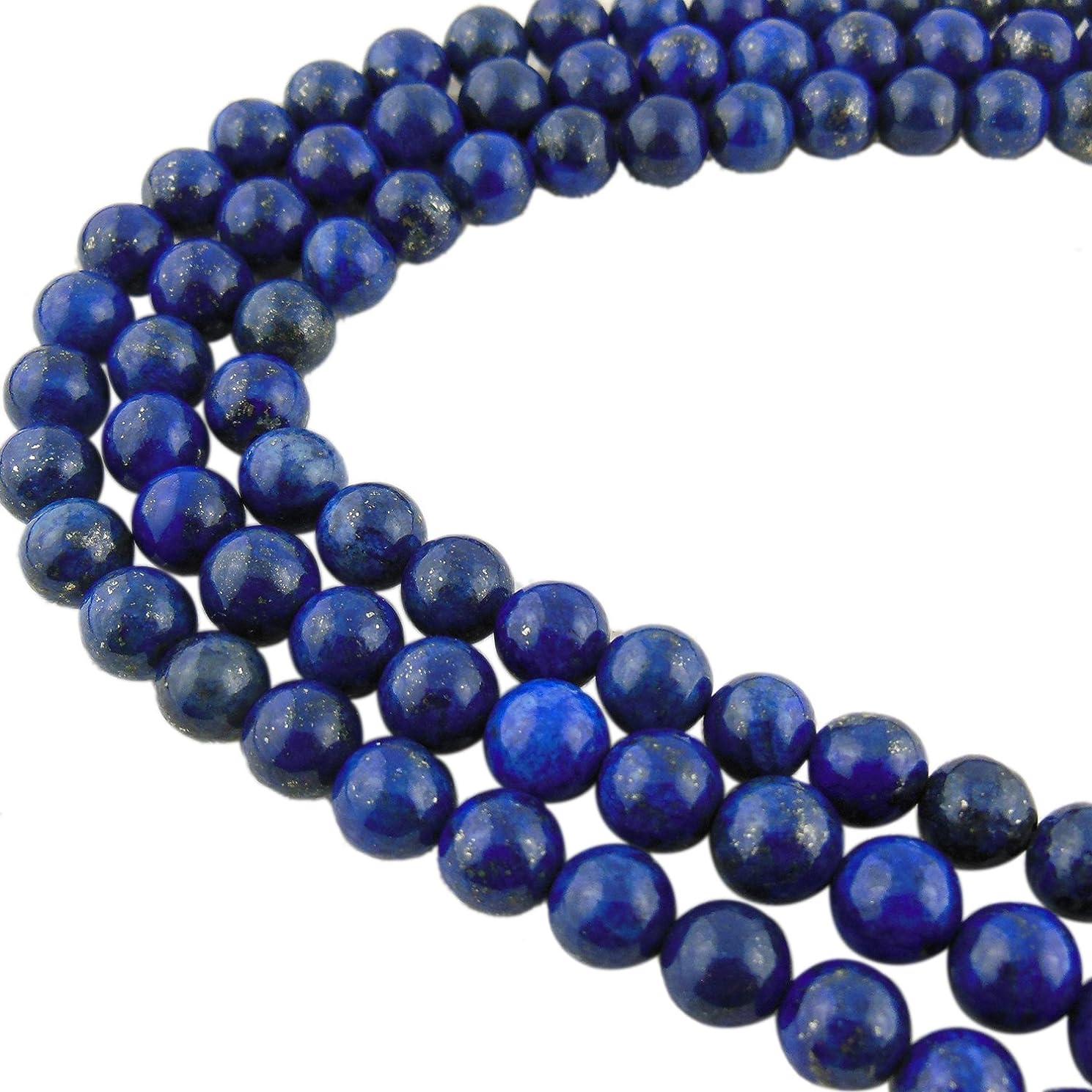 6MM Natural Lapis Lazuli Gemstone Gem Round Loose Stone Beads for Jewelry Making&DIY&Design (RS-1006-6)