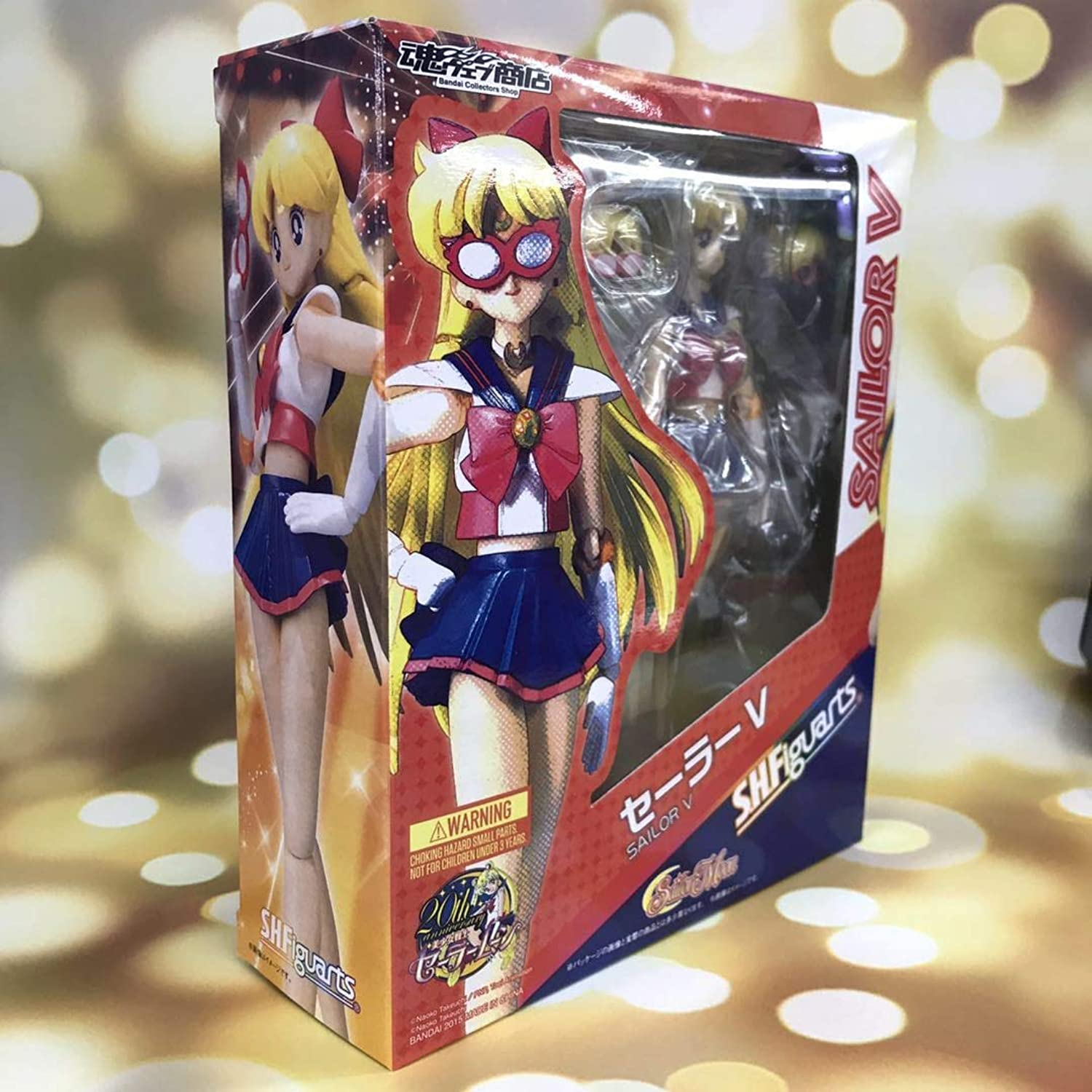 Allegro Huyer SHF Sailor Moon Anime Sailor v Venus bjd Collection Beauty Girls Action Figure Toys 15cm(with Retail Box)