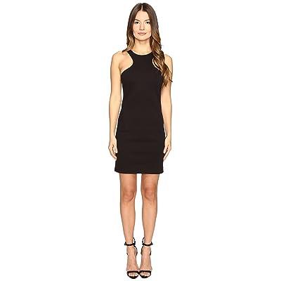 DSQUARED2 Compact Cotton Jersey Tank Dress (Black) Women