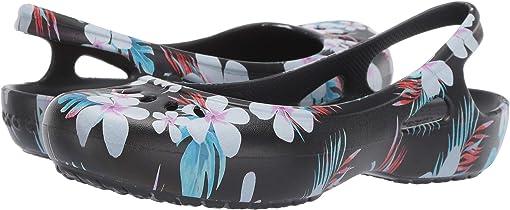 Tropical Floral/Black