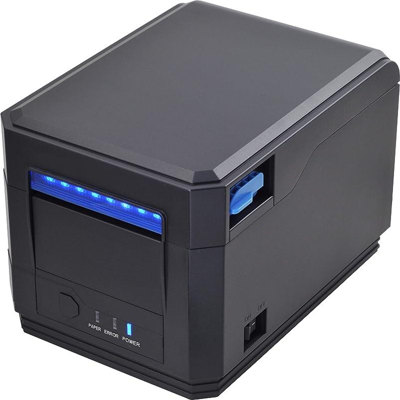 おもしろい大学マグサーマルプリンター 80mm 感熱プリンター 自動に切り USB 特大容量タンク搭載 高速 レシート/チケット/バーコード印刷 Ethernet/LAN ESC/POS プリント指令セットと両立 MUNBYN