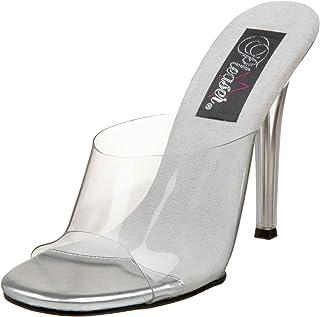 b5bbef6b1e6 Amazon.com  Clear Women s Wedge   Platform Sandals
