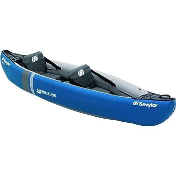 Sevylor Adventure Kayak Hinchable Canoa (2 P), Unisex, Azul, 314 x ...