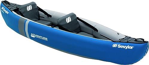 SEVYLOR Adventure Kayak Hinchable Canoa