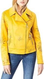 Desigual Luxury Fashion Womens 20SWEW12YELLOW Yellow Outerwear Jacket   Fall Winter 19