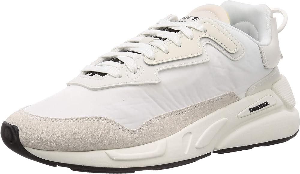Diesel fashion, sneakers uomo,in pelle Y02351P3390T8013