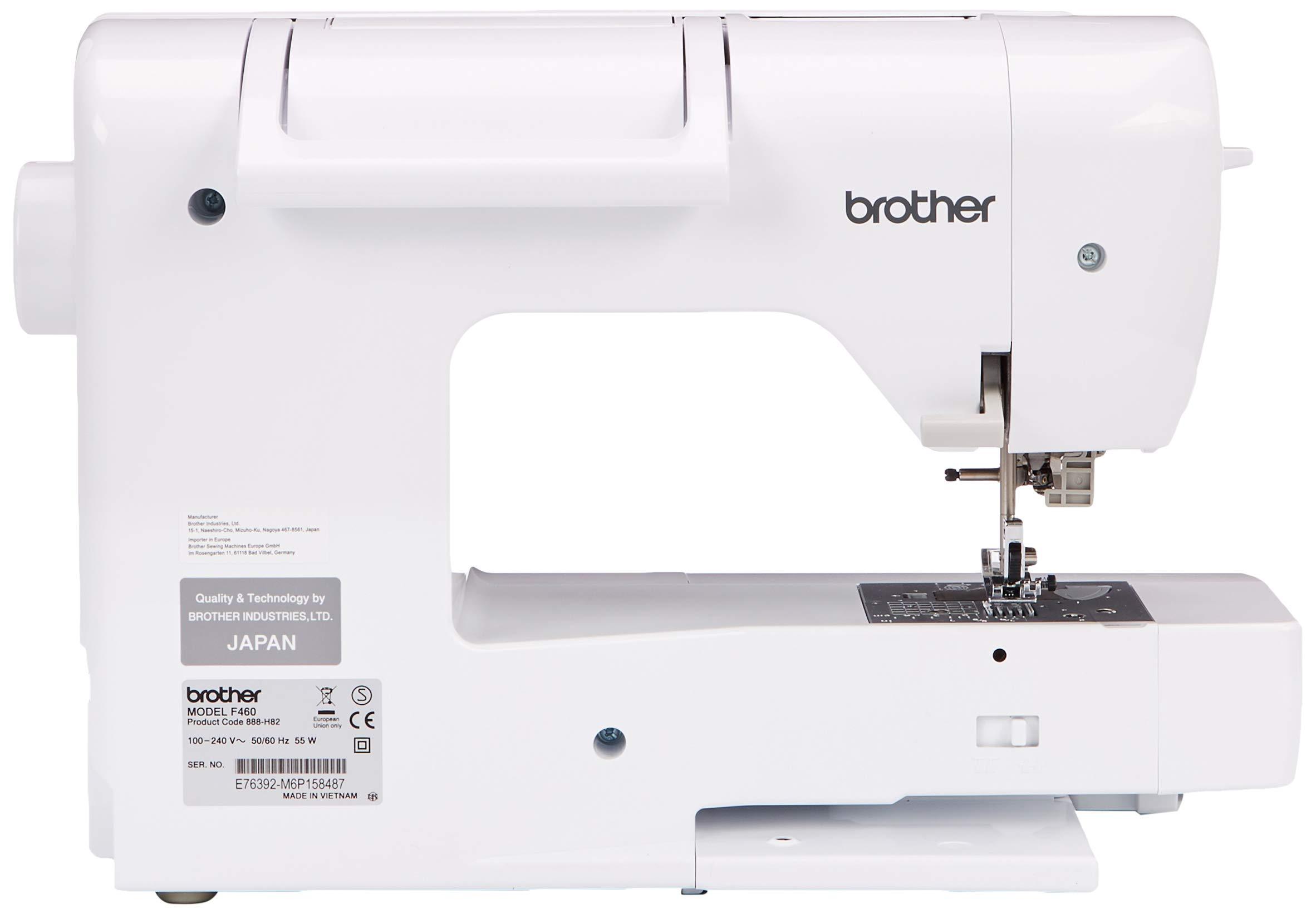 Brother Innovis F460 Maquina De Coser, Blanco, Cm: Amazon.es: Hogar