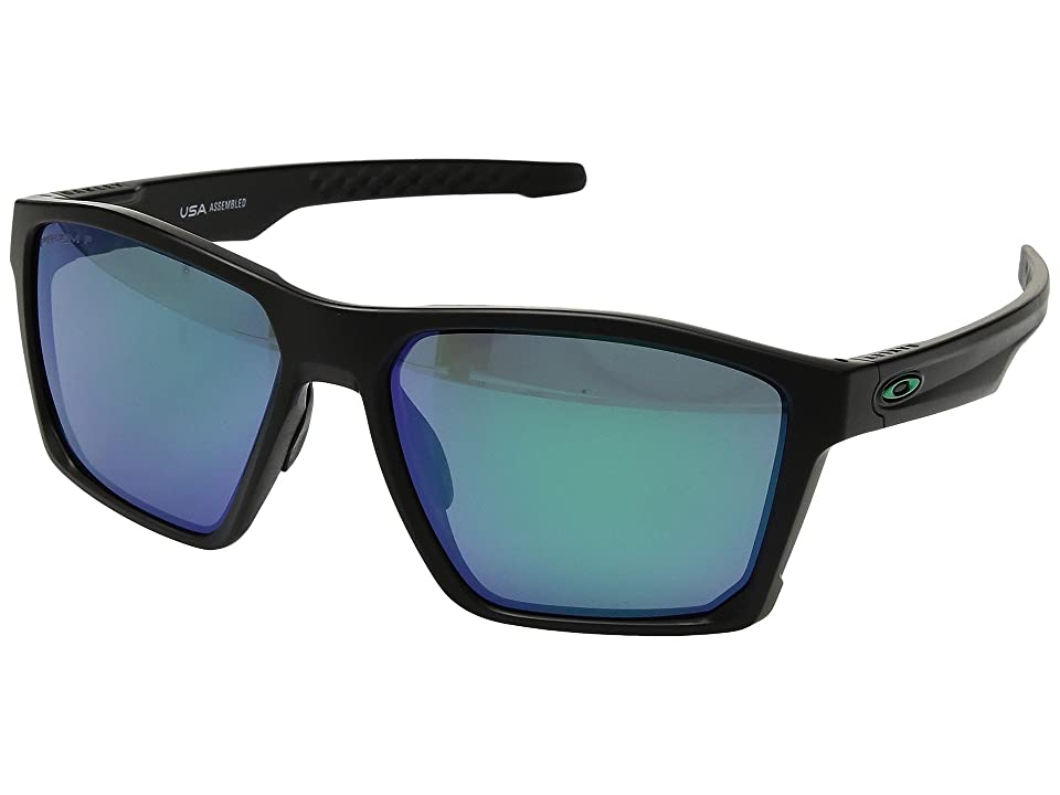 Oakley Targetline (Matte Black w/ Prizm Jade Polarized) Athletic Performance Sport Sunglasses