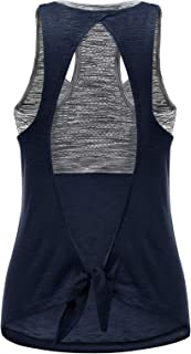 Workout Tank Top with Built in Bra for Women Yoga Tops Athletic Exercise Activewear