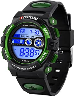 Watches for Kids Digital Waterproof Boys Girls Aged 8-15 Children Sport Watch with Alarm Stopwatch Led Back Light Wristwatch