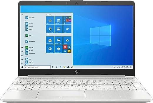 HP 15 (2021) AMD Ryzen 3-3250 8 GB RAM, 1TB HDD + 256GB SSD, 15.6 inches FHD Screen, Windows 10, MS Office Thin & Light Laptop, 1.82kg (15s-gr0012AU), Silver