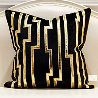 Amazon.com: Black and Gold   Throw Pillow Covers / Decorative