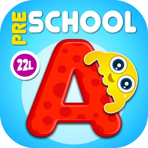 ABC Kids Tracing School - Alphabet, Letters, Numbers, Shapes Learning Games for Preschool & Kindergarten Boys and Girls