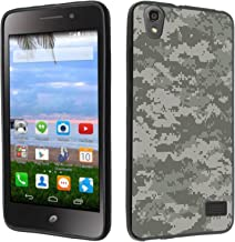 Huawei Pronto LTE case - [Digital Camo Gray](Black) PaletteShield(TM) Flexible TPU gel skin cell phone cover soft slim guard protective shell (for Huawei Pronto LTE H891L )