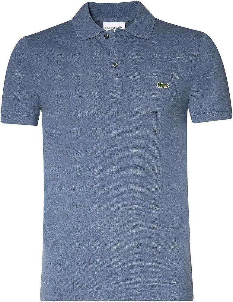 Lacoste polo,maglietta per uomo maniche corte,100% poliestere PH401200