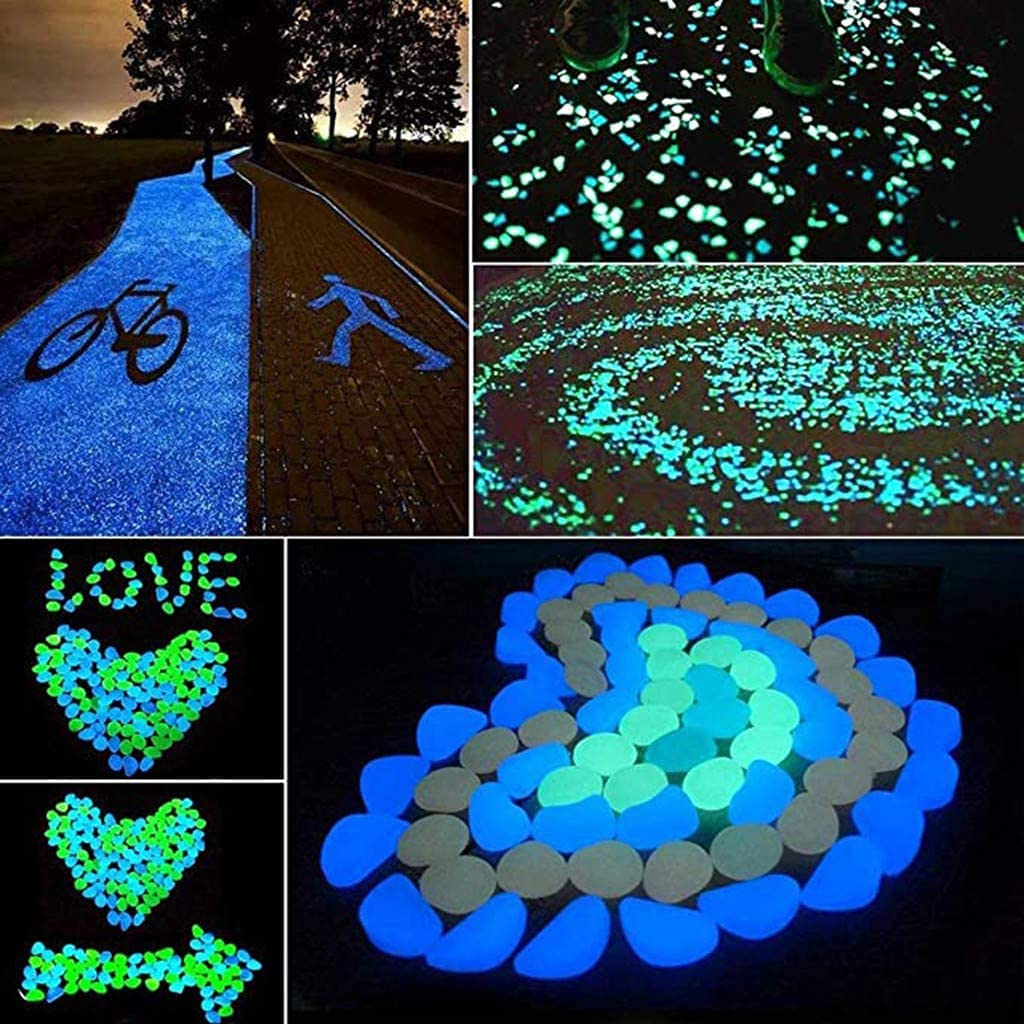 Outdoor Decorative Stones Pebbles Max 55% OFF in Dark The Special price Glow