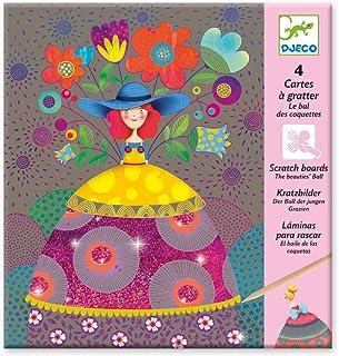 Marcvidal512 Ensemble de cartes /à gratter et /à colorier Marc vidal