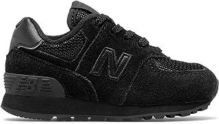 (ニューバランス) New Balance 靴?シューズ キッズランニング 574 Core Black ブラック US 2 (20.5cm)
