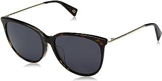 نظارة شمسية للنساء من مارك جايكوبز مارك 257/اف/اس اي ار 086 56، بني (هافانا غامق/رمادي)