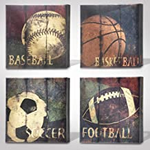 Green Frog Sports Themed Canvas Wall Art Great Gift, 14