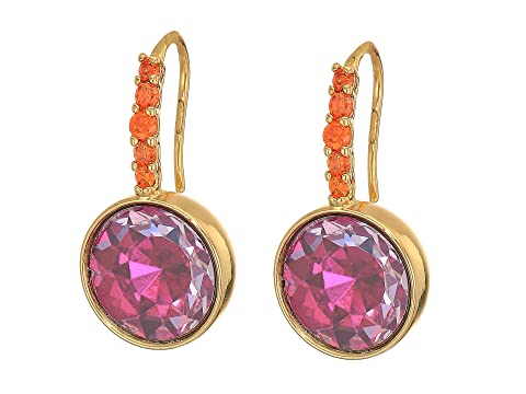 Kate Spade New York Reflecting Pool Pave Round Drop Earrings
