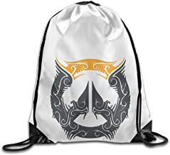 Show Time Over2016watch Backpack Gymsack Drawstring Rucksack