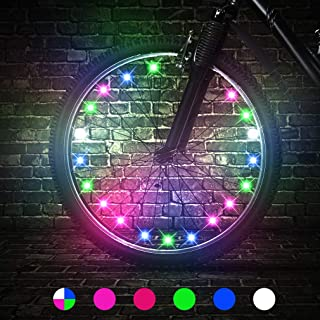 TINANA LED Bike Wheel Lights Ultra Bright Waterproof...