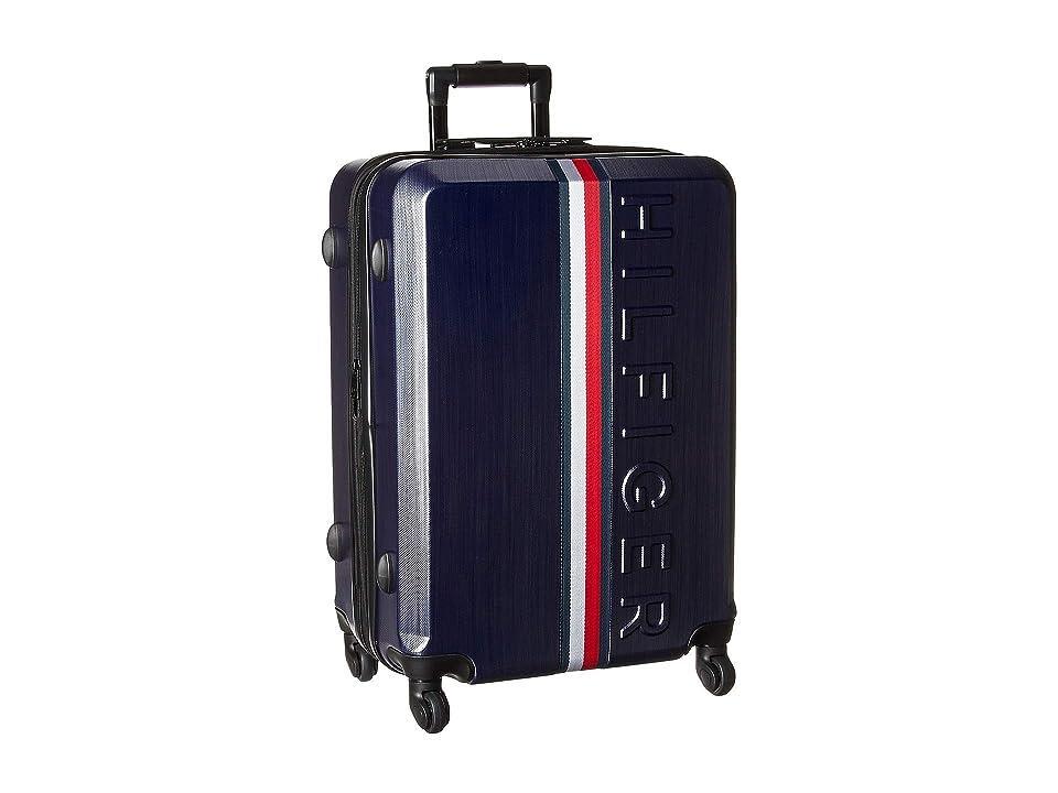 Tommy Hilfiger 25 Vintage Sport Upright Suitcase (Navy) Luggage