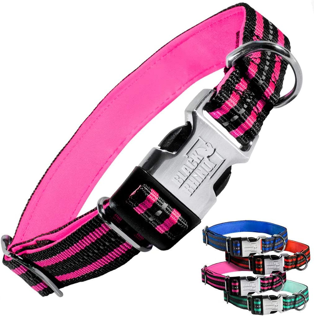 Black Rhino - The Hybrid Striped Max 86% OFF Collar Large Bre Dog for Medium Special price