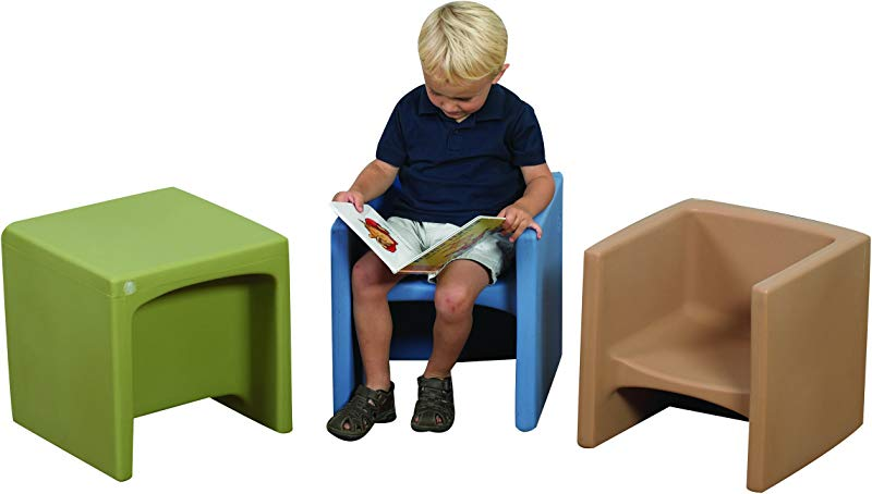Woodland Cube Chairs Set Of 3