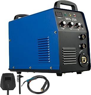 Cueffer Equipo de Soldadura MIG-250 Máquina de Soldadura Soldador Inverter con Electrodo Máquina de