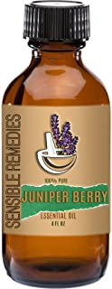 Sensible Remedies Juniper Berry 100% Pure Therapeutic Grade Essential Oil 4 fl oz