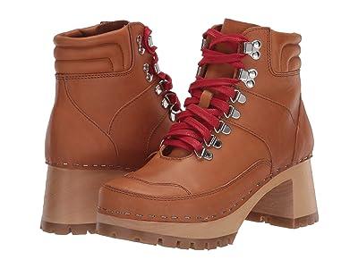 Swedish Hasbeens Trail Boot Clog (Nature) Women