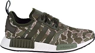 Originals NMD_R1 Shoe - Men's Casual 6 Sesame/Trace Cargo/Base Green